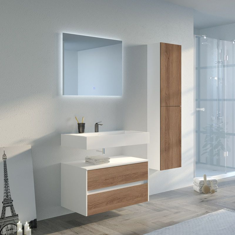 Ensemble de salle de bain scandinave Visenza 800 SV-B