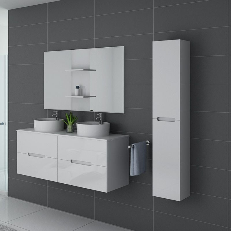 Meubles salle de bain RIVALTO Blanc