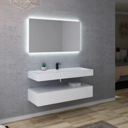 Meuble salle de bain AVELLINO 1200