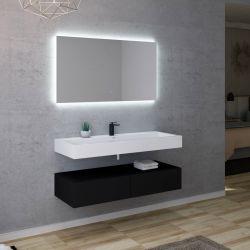 Vasque solid surface Corian du meuble AVELLINO 1200N