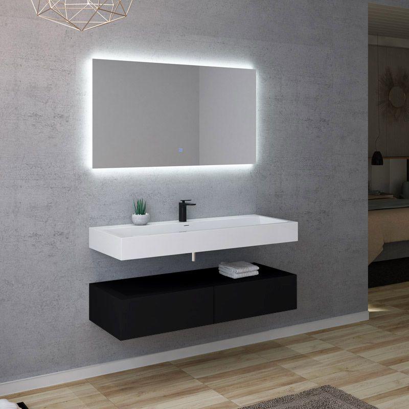 Meuble salle de bain AVELLINO 1200N