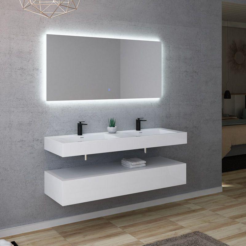 Meuble salle de bain AVELLINO 1400