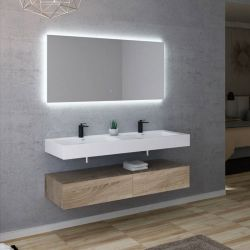 Meuble salle de bain AVELLINO 1400SC