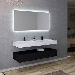 Meuble salle de bain AVELLINO 1400N
