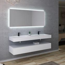 Meuble salle de bain AVELLINO 1600