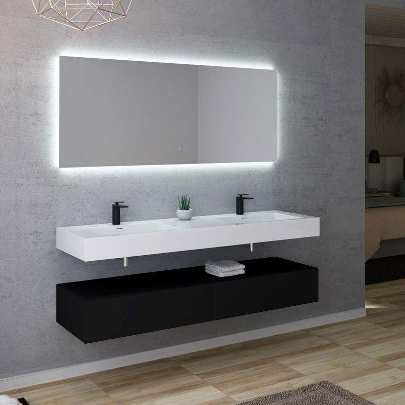 Meuble salle de bain AVELLINO 1600N