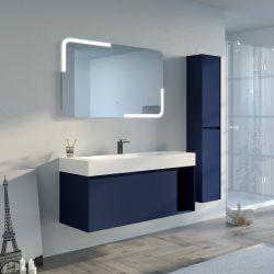 Meuble salle de bain ARTENA 1200 Bleu Saphir
