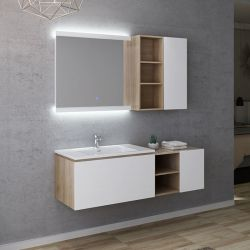 Dimensions Meuble salle de bain ALASSIO 800