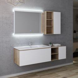 Dimensions Meuble salle de bain ALASSIO 1000
