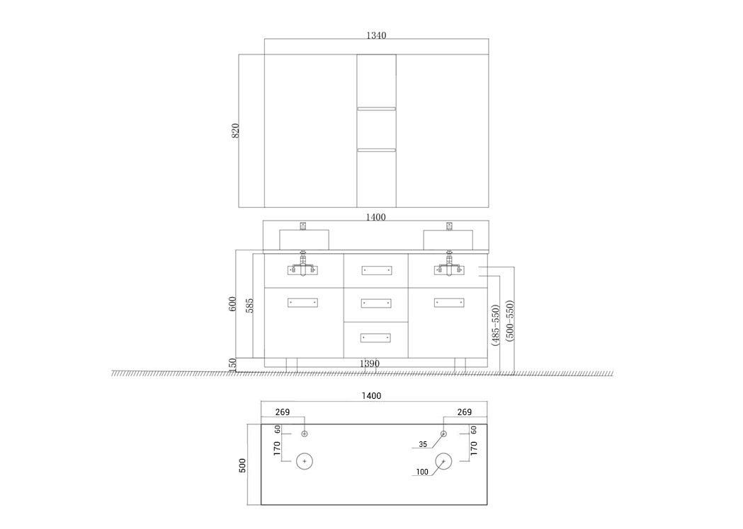 Meuble De Salle De Bain Beton 2 Vasques Meuble De Salle De Bain Double Vasque Meuble De Salle De Bain Design