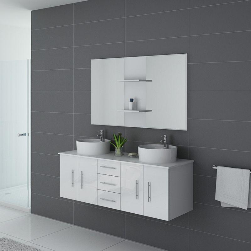 Meuble salle de bain CARSOLI Blanc