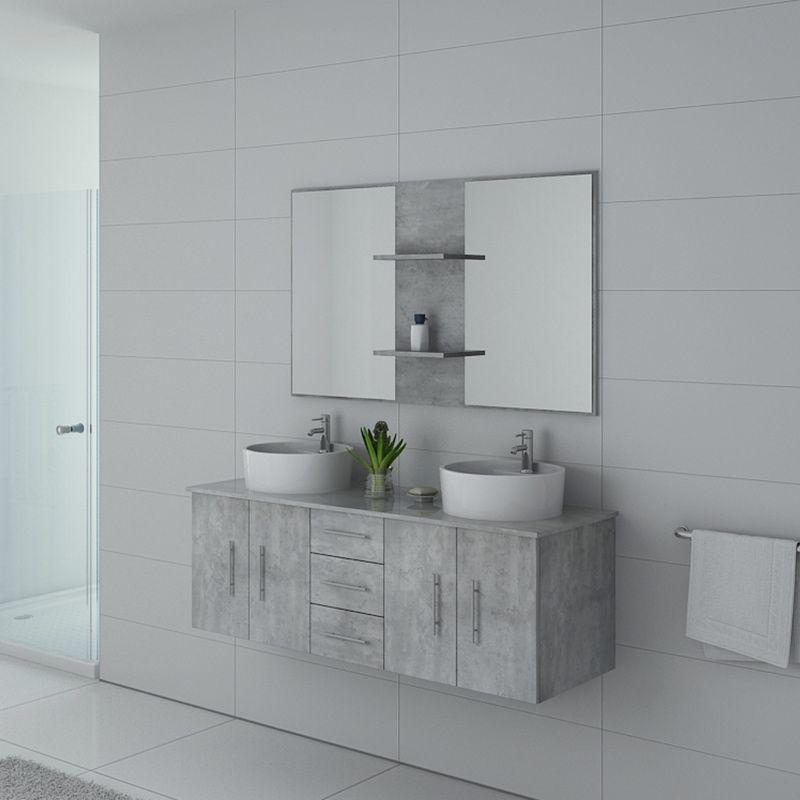 Meuble salle de bain CARSOLI Béton