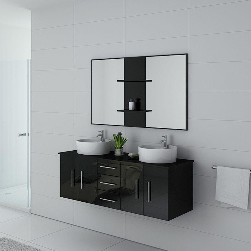 Meuble salle de bain CARSOLI Noir
