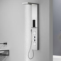 ES010 Colonne d'hydromassage avec étagère porte savon