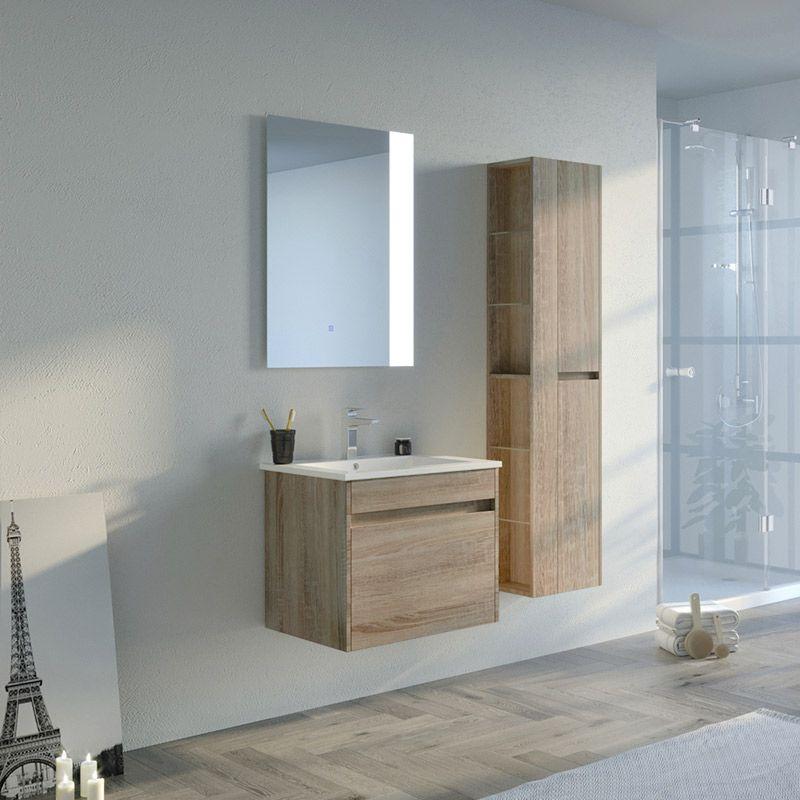 Meuble salle de bain BOVALINO 600 Scandinave