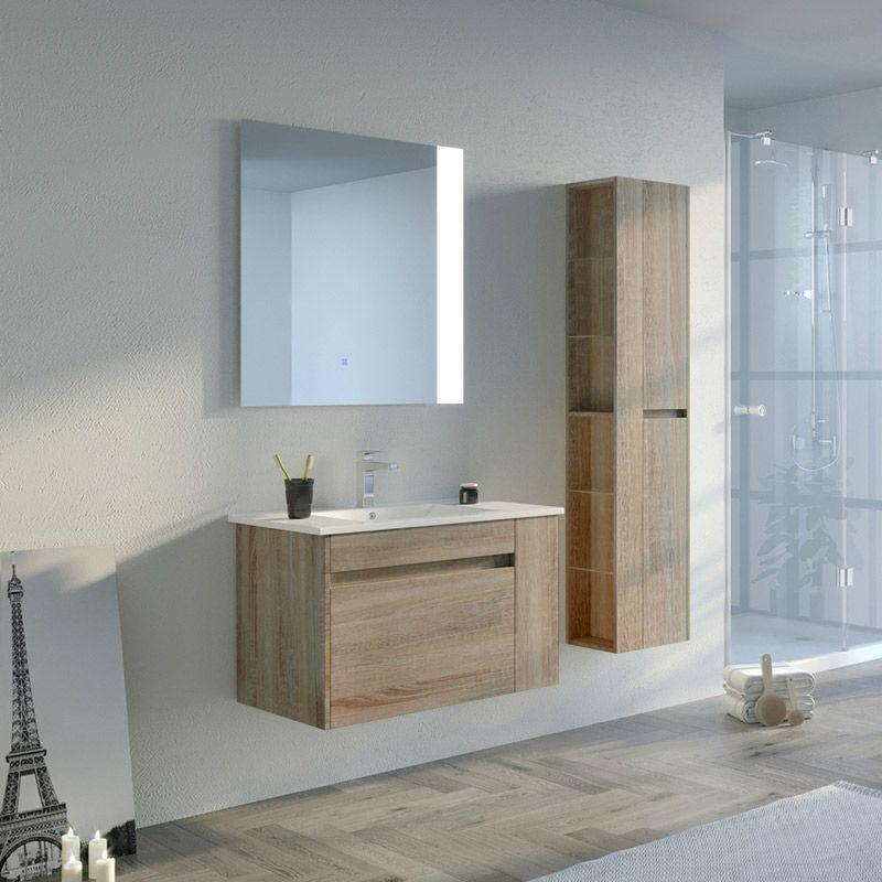 Meuble salle de bain BOVALINO 800 Scandinave