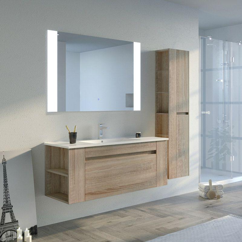 Meuble salle de bain BOVALINO 1200 Scandinave