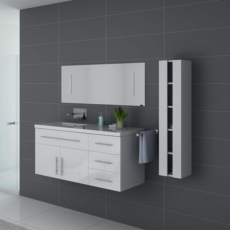 Meubles salle de bain URBAN B Blanc