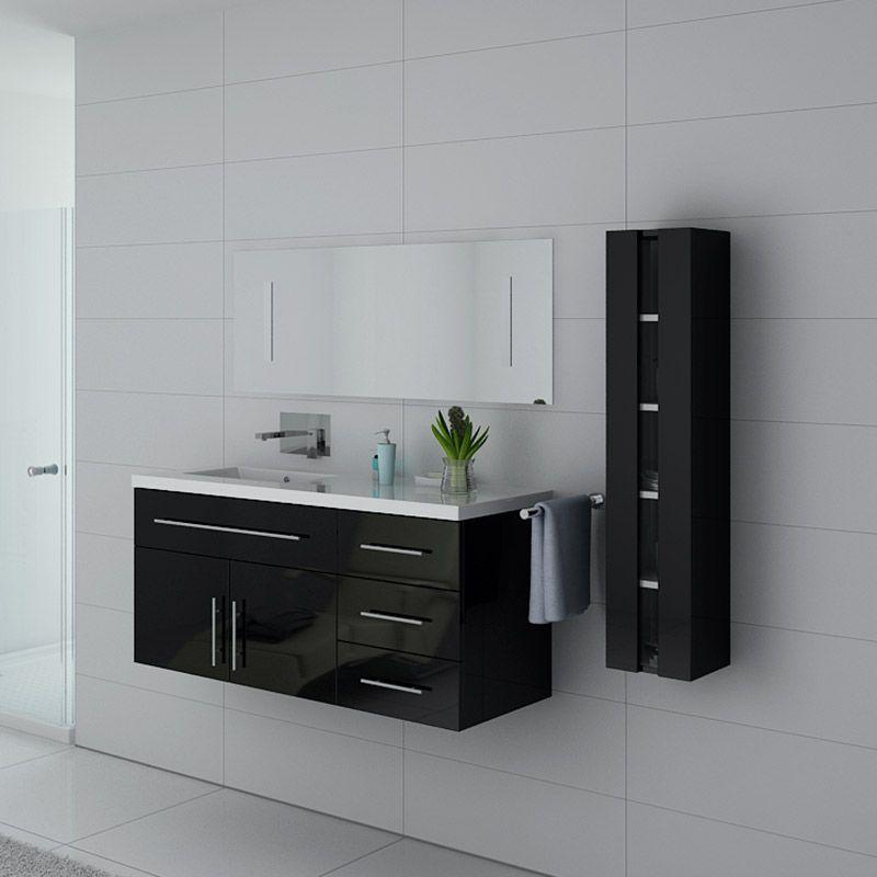 Meubles salle de bain URBAN N Noir