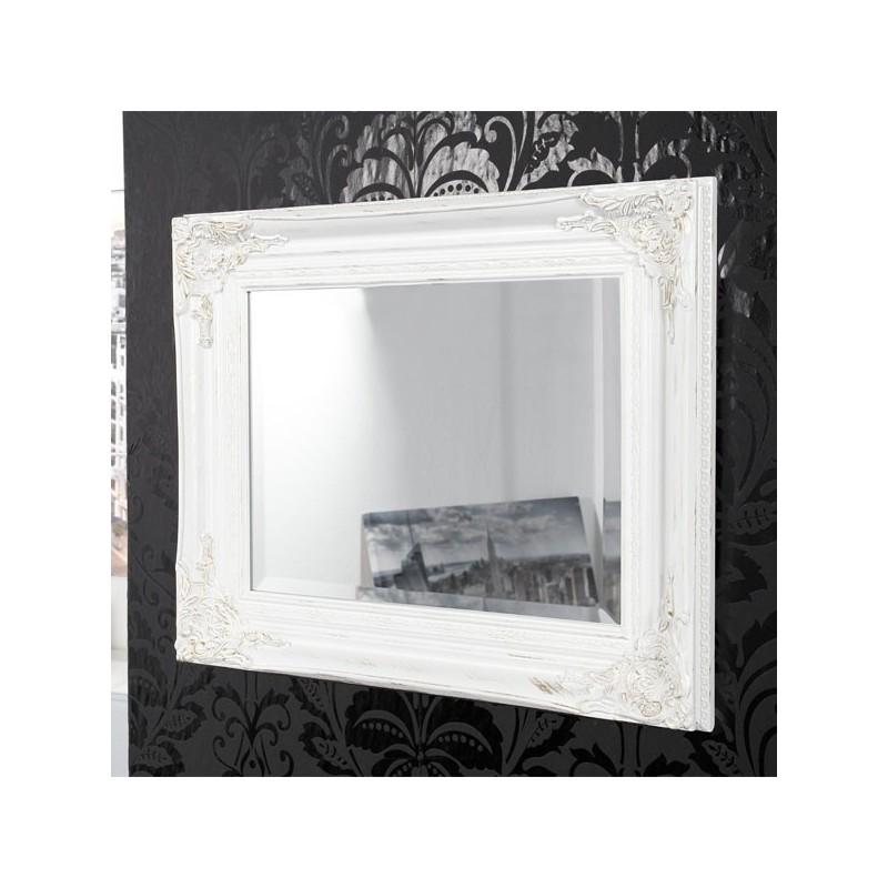 Miroir Mural Galery Blanc