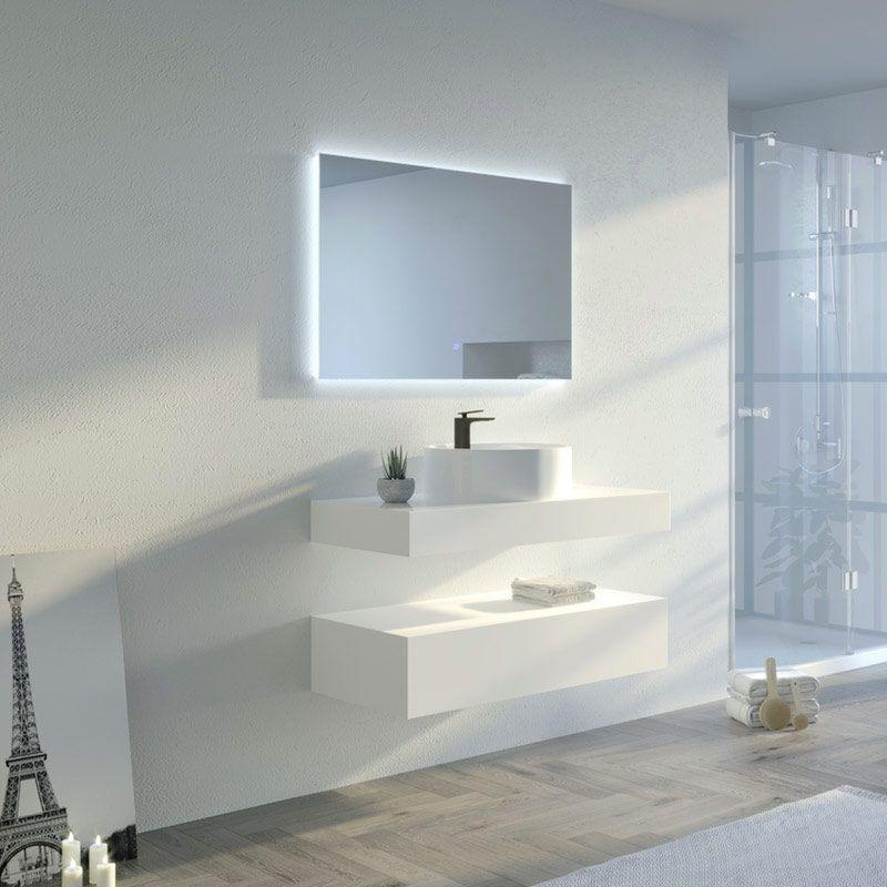 Meuble salle de bain MANCIANO 1000