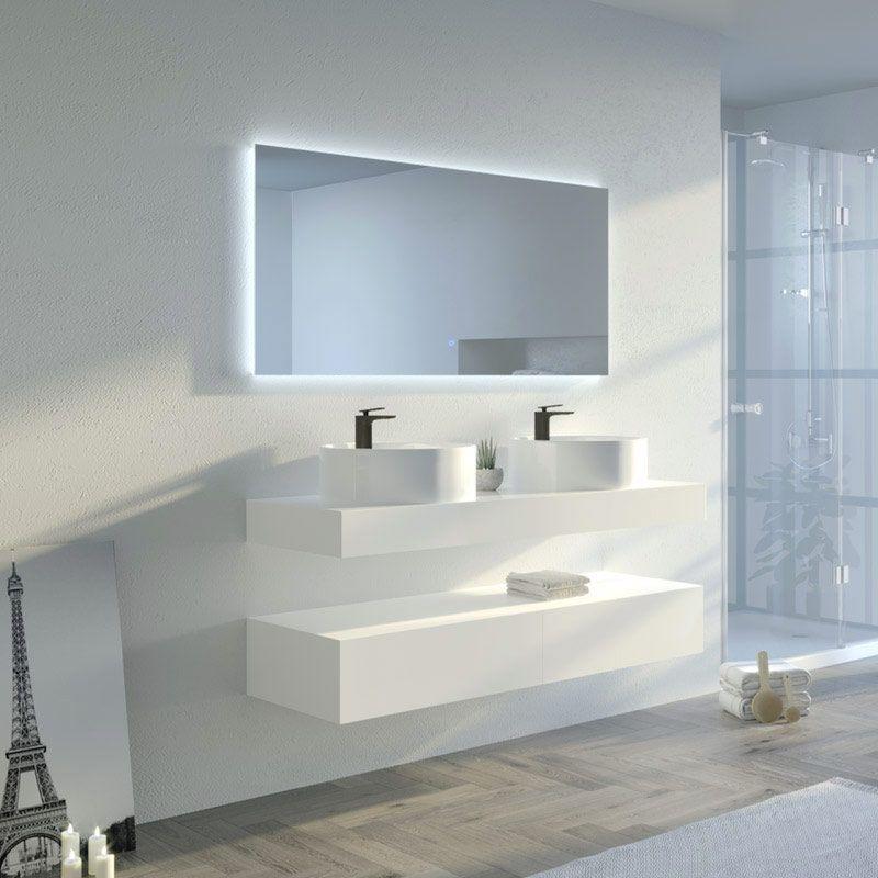 Meuble salle de bain MANCIANO 1400
