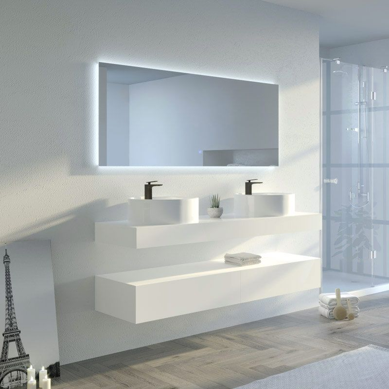 Meuble salle de bain MANCIANO 1600