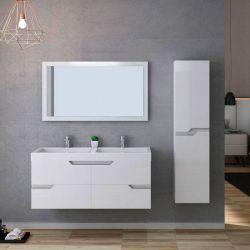 Meuble salle de bain CALABRO 1200 Blanc