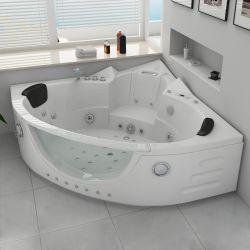 Baignoire angle pour salle de bain avec massage SEATTLE