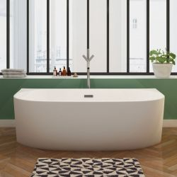 Belle baignoire blanche OLIVEIRA