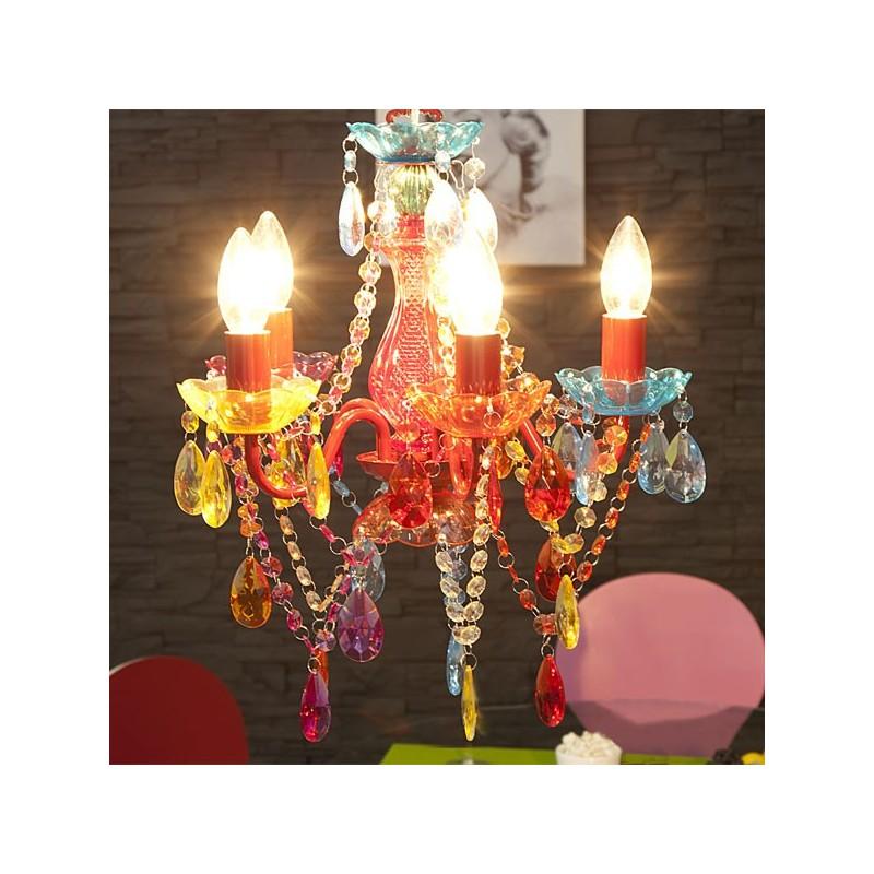 lustre pampilles multicolore karat 5. Black Bedroom Furniture Sets. Home Design Ideas