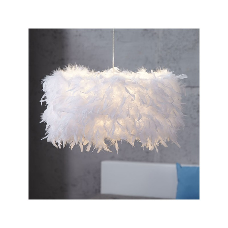 suspension nuage plumes plumes. Black Bedroom Furniture Sets. Home Design Ideas