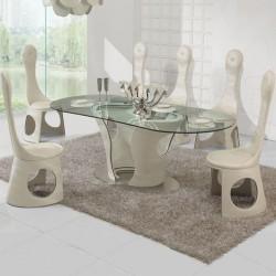 CARLTON Ensemble table et chaises