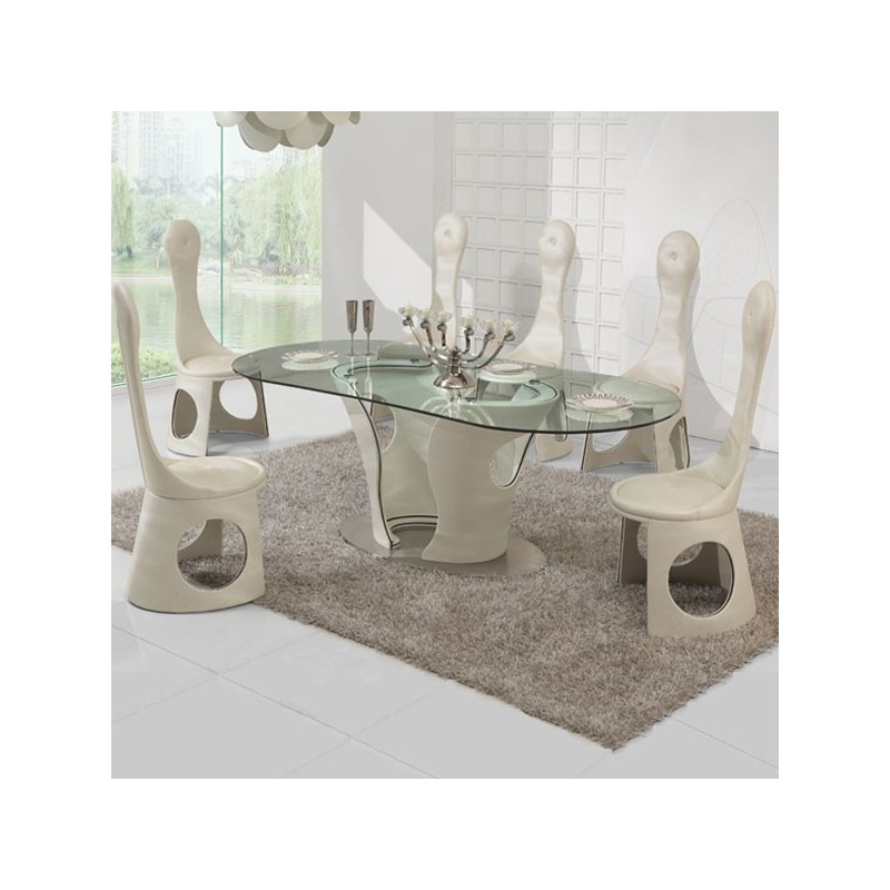 CARLTON Ensemble table et chaises
