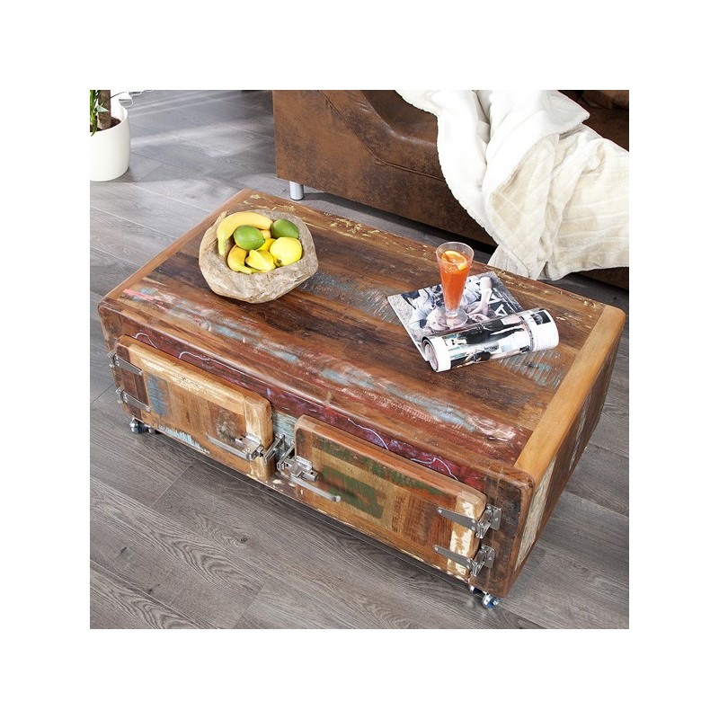 Table basse armstrong for Meuble salon retro