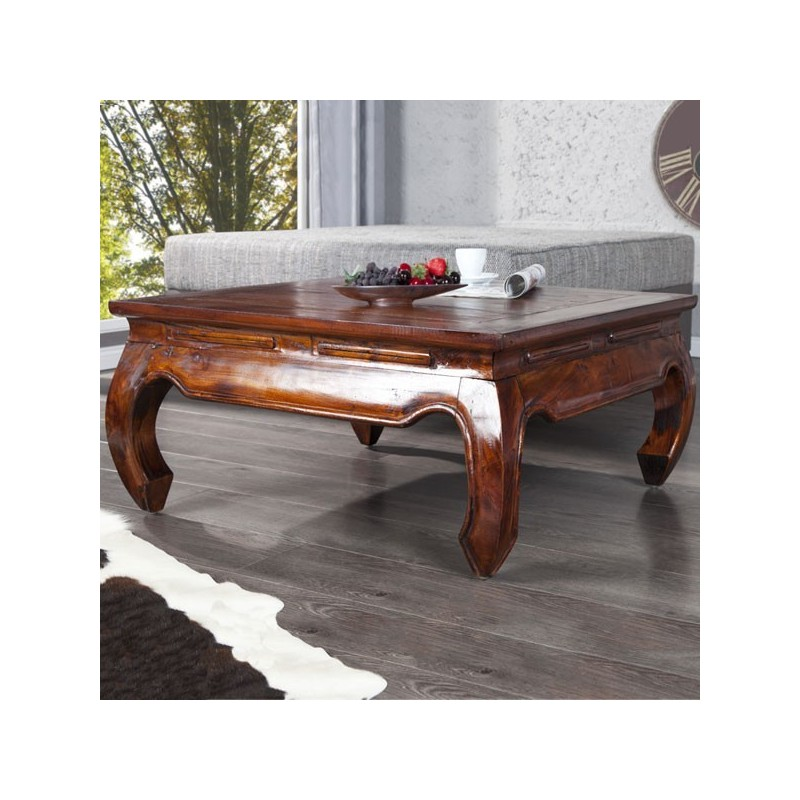 MAHAGONI Table basse Opium
