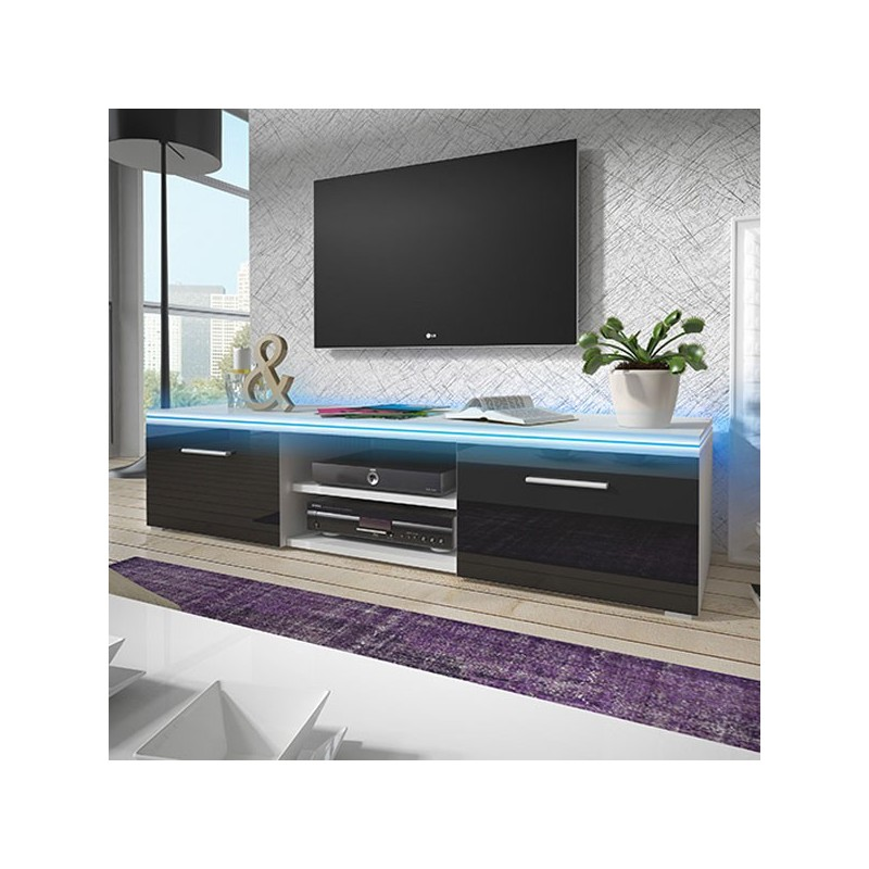 meuble tv design memphis. Black Bedroom Furniture Sets. Home Design Ideas