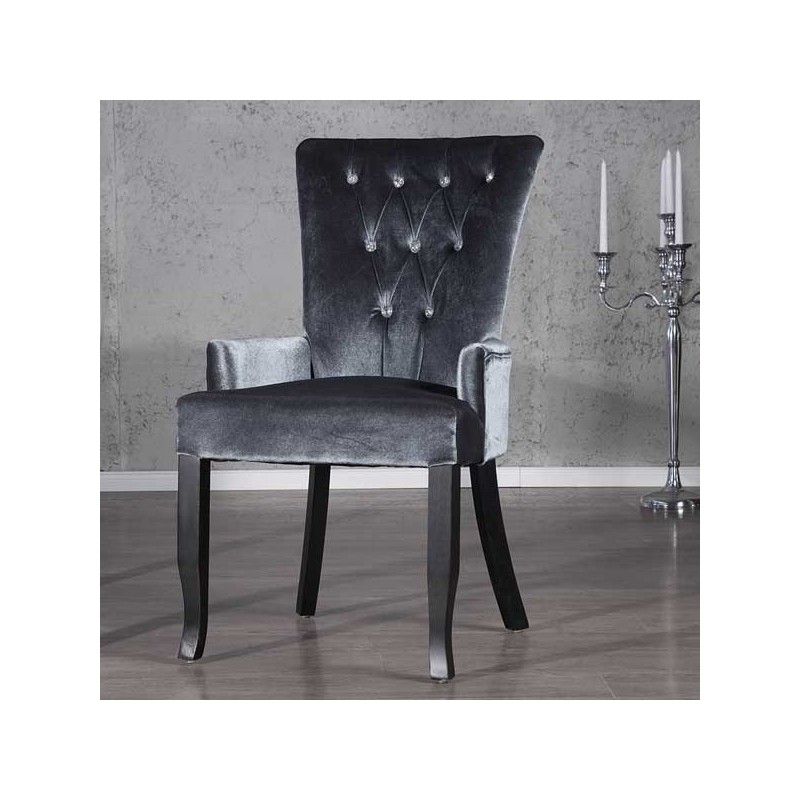 fauteuil boutique gris. Black Bedroom Furniture Sets. Home Design Ideas