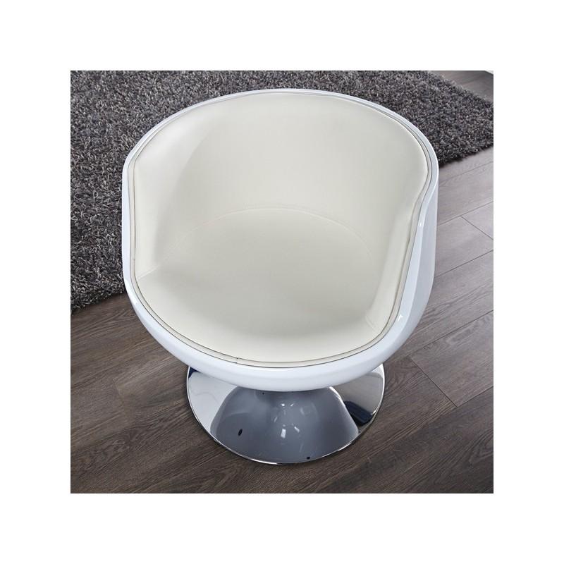Fauteuil combo blanc for Fauteuil salle de bain