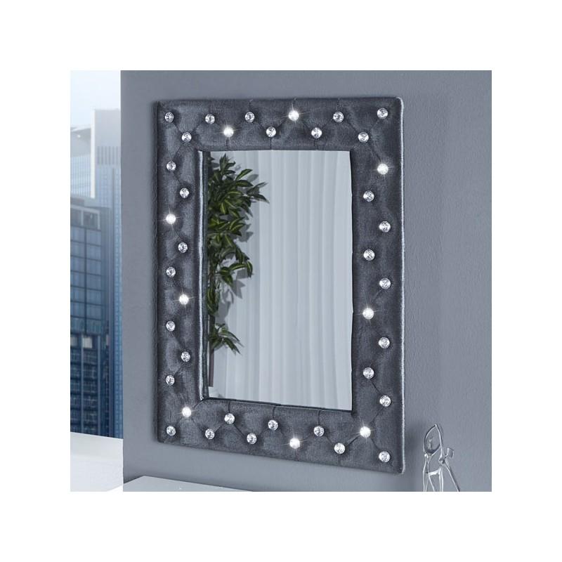 Miroir mural boutique gris for Boutique miroir