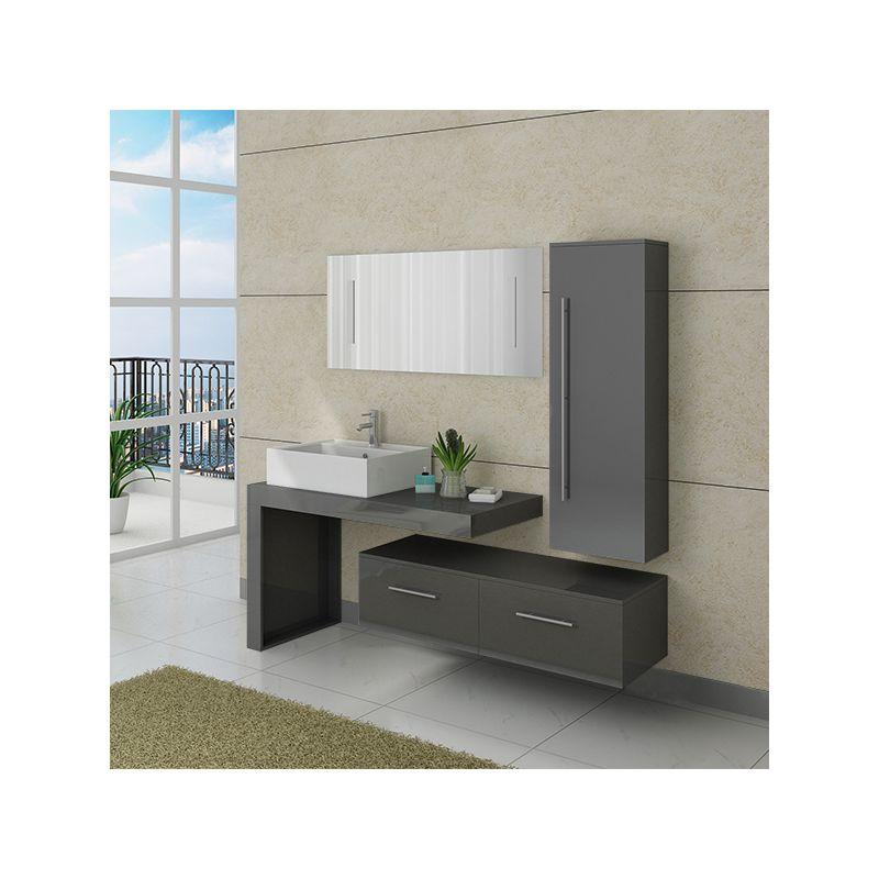 Salle de bain on line meilleures images d 39 inspiration for Meuble salle de bain taupe