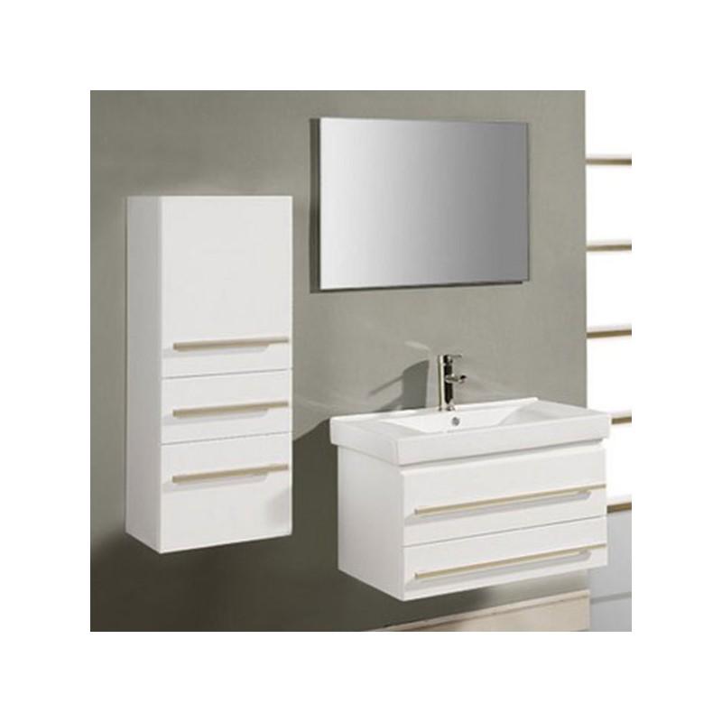 Meuble salle de bain de luxe en bois massif ref sd684n for Meuble salle de bain online
