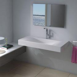 Plan vasque avec évacuation centrale : SDP03-B