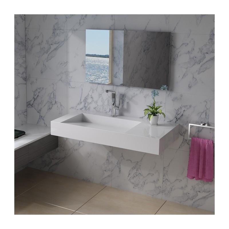 SDPW12-A : plan vasque en polystone
