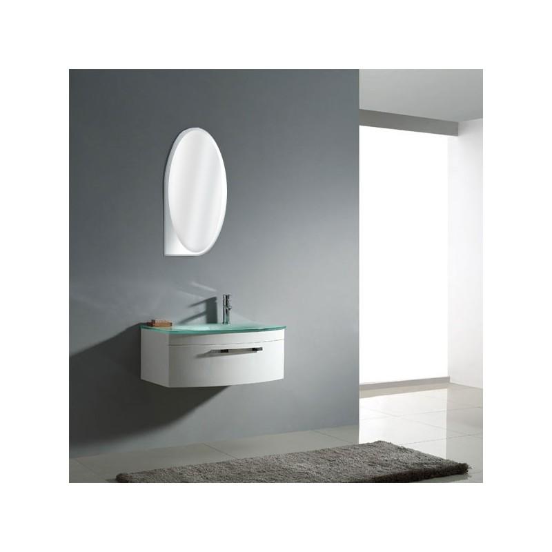 Sd022 750a meuble salle de bain coloris blanc for Salle de bain online