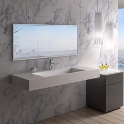 SDPW15 : Plan vasque tendance en solid surface