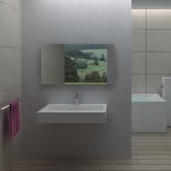 SDPW17 : plan vasque contemporain en solid surface