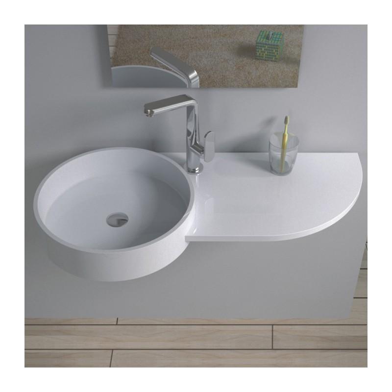 plan vasque suspendu design original. Black Bedroom Furniture Sets. Home Design Ideas