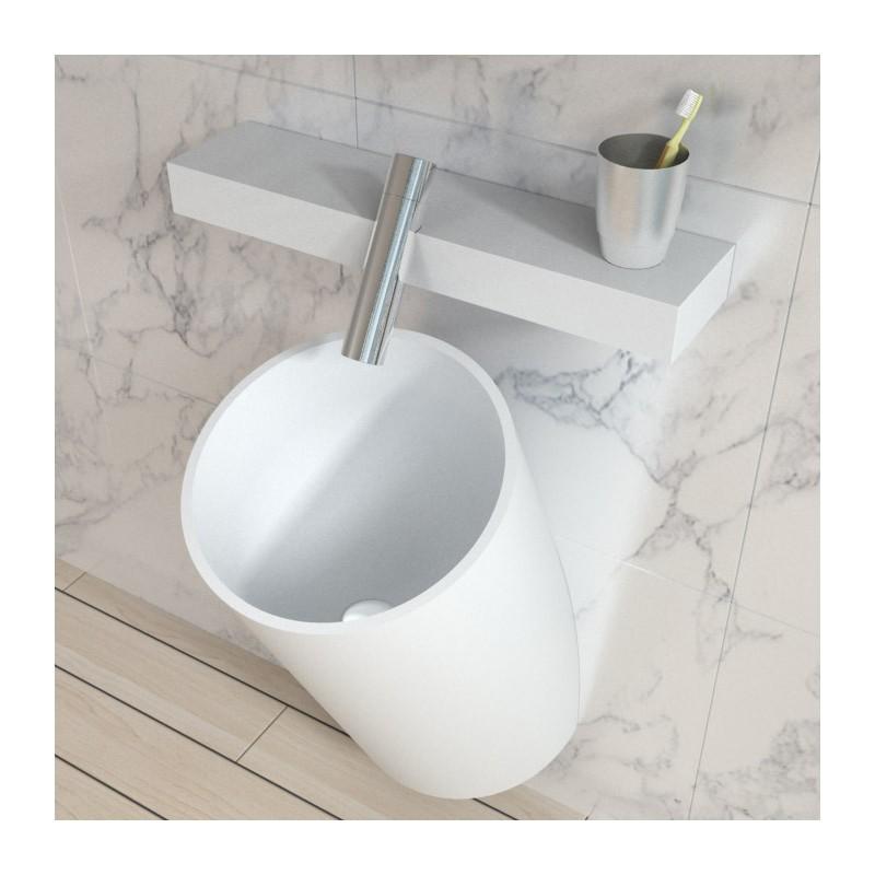 Vasque design suspendre - Surface d une salle de bain ...
