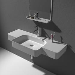 Grand plan vasque en solid surface SDWD38189